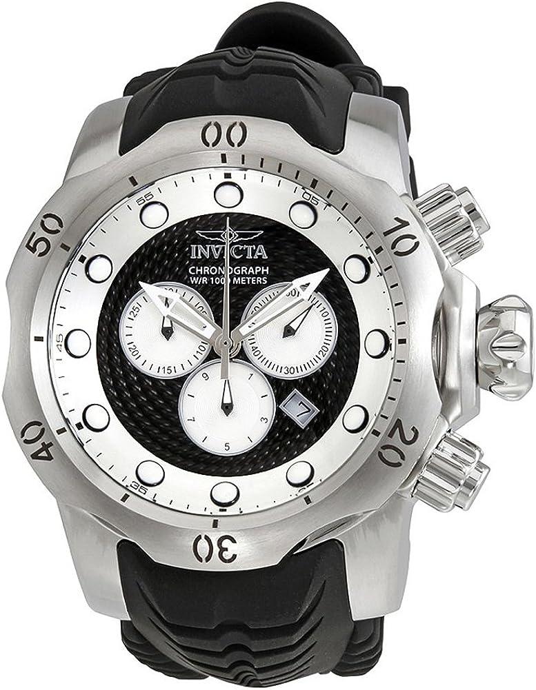 [インビクタ] Invicta 腕時計 Venom Chronograph Black and Silver Dial Men's Watch メンズ 20439 [並行輸入品]