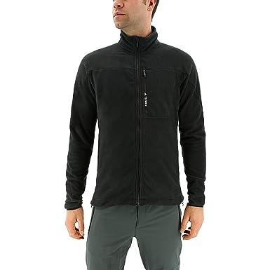 adidas outdoor Mens Terrex Tivid Fleece Jacket Black Outerwear