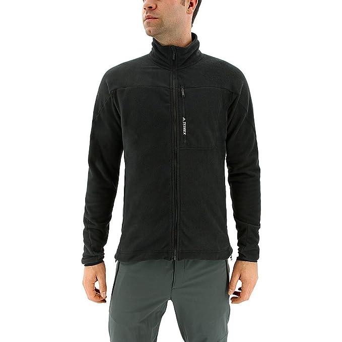 Adidas Sport Performance Mens Terrex Tivid Fleece Jacket at Amazon Mens Clothing store: