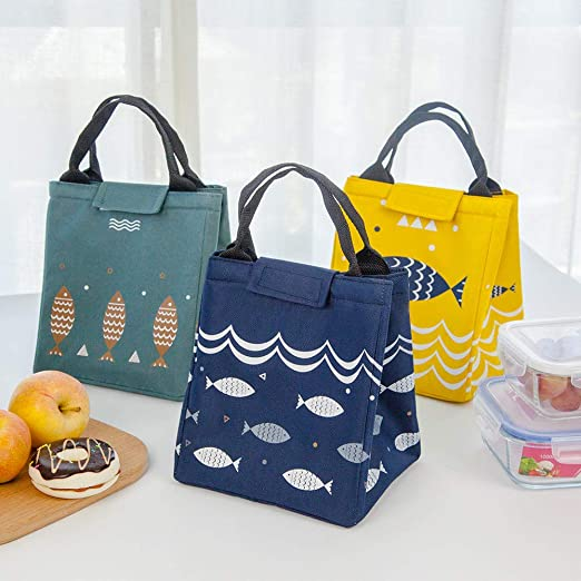 AAWWWT Portable Lunch Bag, Picnic Bag, Fresh Ice Pack, Zipper Lunch Box Bag, Picnic Lunch Bag, Lunch Bag, Cooling Bag, Insulated Ice Bag, Cold Storage Bag, School Outdoor Travel Picnic@10pc: Amazon.es: Jardín