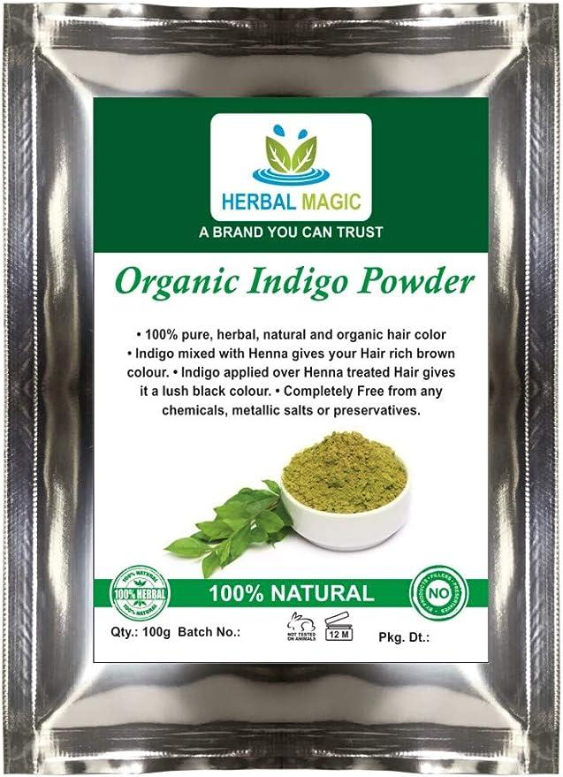 Orgánico certificado por ecocert- Indigo