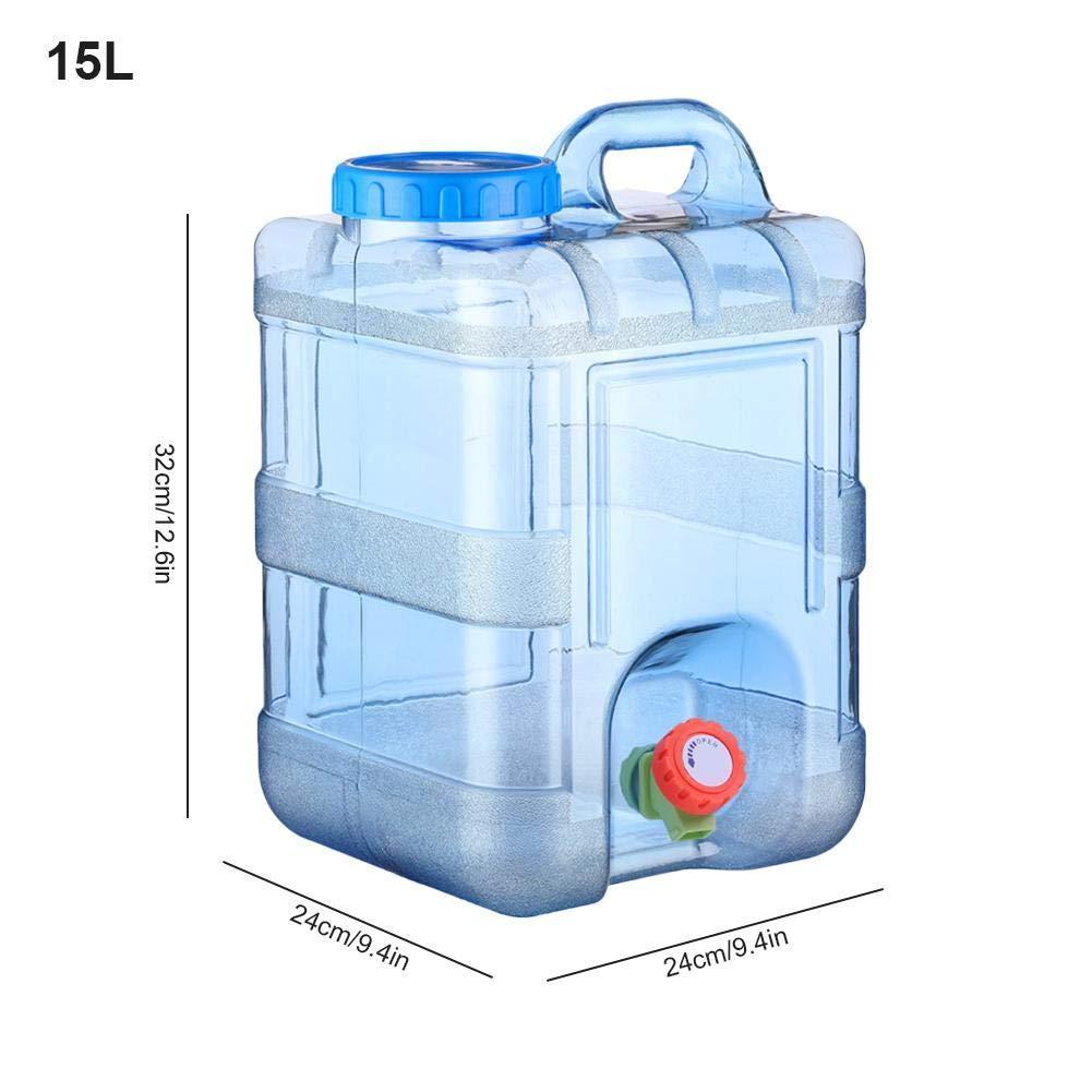 20L Ritapreaty Seau de Voiture /épaissi avec Robinet pour Seau /à Eau Seau Portable pour Voiture Seau en Plastique pour Eau Pure 15L