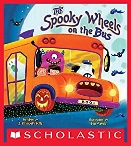 Spooky Wheels Bus Elizabeth Mills ebook product image