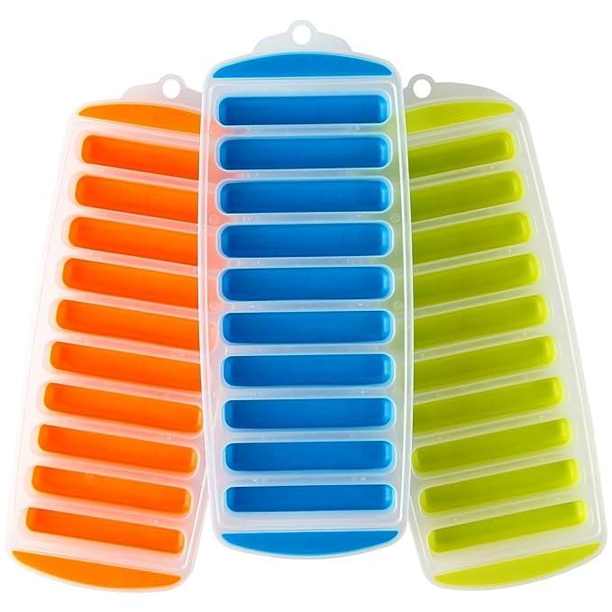 Fácil Pop de hielo, bandeja – mantener las bebidas frías – Pack de ...