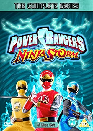 Power Rangers Ninja Storm Box Set [Reino Unido] [DVD ...