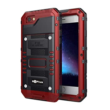 iPhone 6 Plus iPhone 6s Plus Funda Impermeable, IP68 Certificado ...