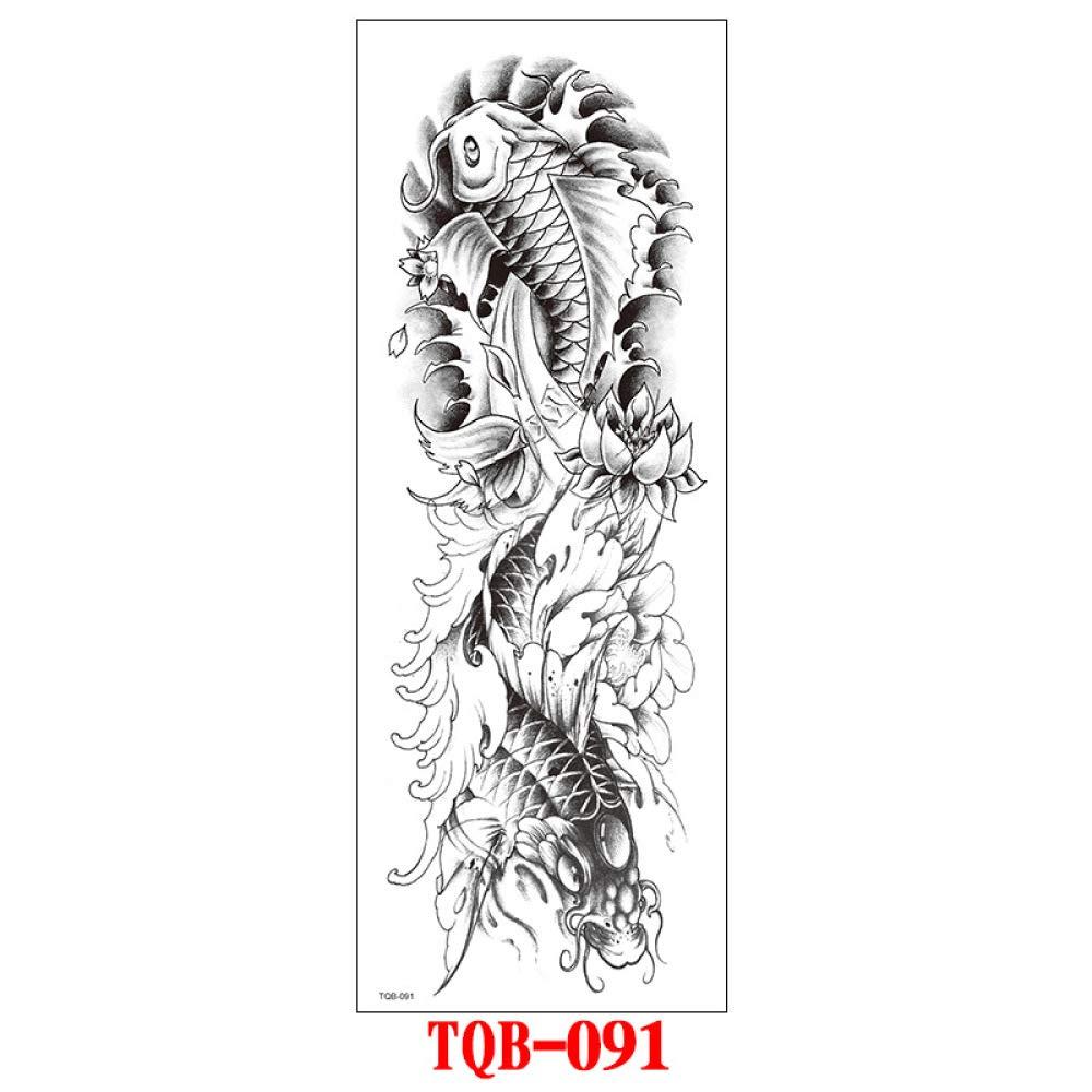 Handaxian Tatuaje de Brazo Completo Poste de Brazo Completo patrón ...