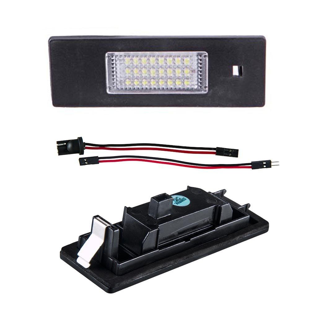 Ralbay Kennzeichenbeleuchtung Auto Nummernschilder Licht E63 E81 E85 E86 Kennzeichenleuchte Nummernschild Licht