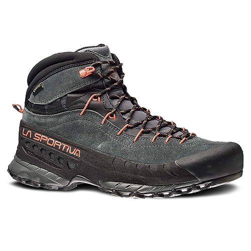 La Sportiva TX4 MID GTX Hiking Shoe - Men's, Carbon/Flame, 45