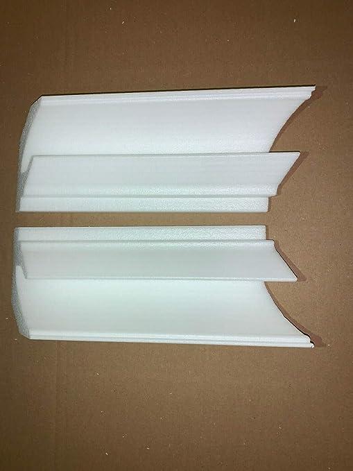 1 tira de luces LED para esquina exterior de poliestireno para BL14.