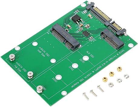 Tarjeta Vertical M.2 MSATA a SATA3 Laptop Laptop SSD Disco Duro Adaptador de Disco Tarjeta Vertical con PCI Express M. 2 Especificaciones.Version 1.0.: Amazon.es: Electrónica