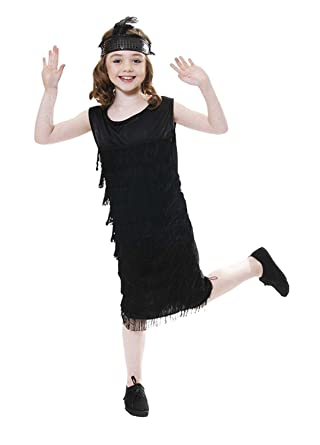 640e5ed39 Amazon.com  Rimi Hanger Child Flapper W Tassles Outfit Girls 1920s ...