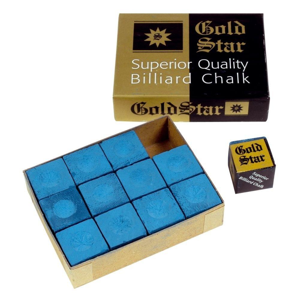 Kreide Gold Star Blau 12 Stück im Pack Winsport 30682257