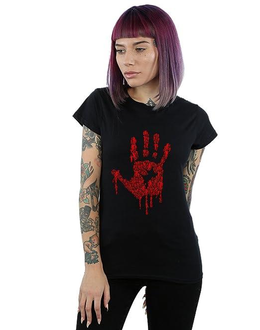 Camiseta Amazon Accesorios Ropa Hand es Zombie Y Mujer Drewbacca qt1RwFvRH