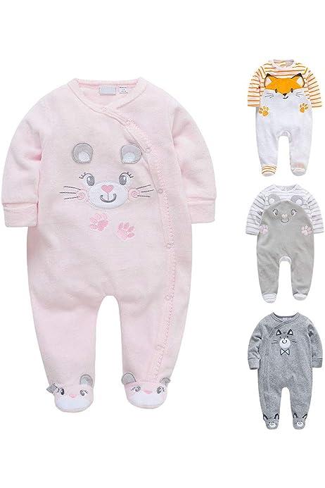 Disco Sloth Unicorn Baby Boys Girls Long Sleeve Baby Onesie Jumpsuits