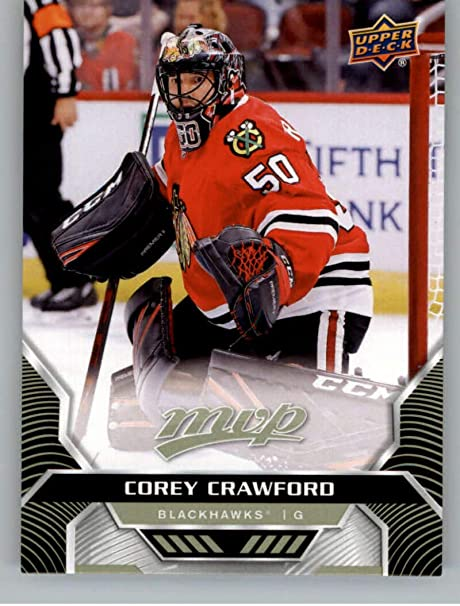 Amazon Com 2020 21 Upper Deck Mvp Hockey 2 Corey Crawford Chicago Blackhawks Official Nhl Trading Card From The Ud Company Collectibles Fine Art