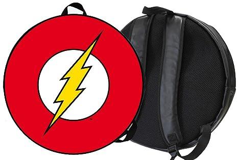 The Flash DC Comics Mochila Escudo Logo Rayo