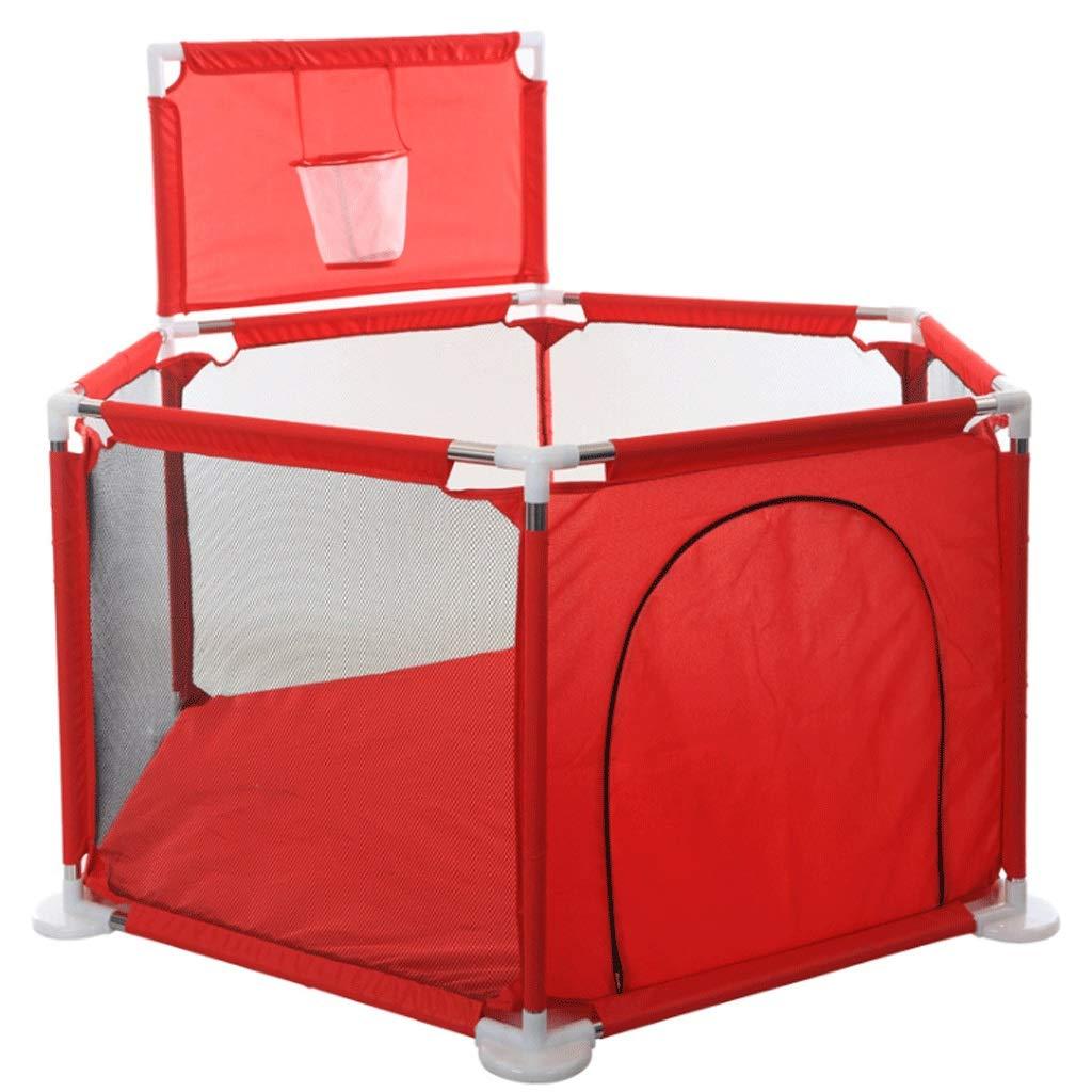 子供の安全フェンス 幼児の保護屋内と屋外の再生フェンスと子供フェンス - 3色 (色 : Red)  Red B07KWK61D8