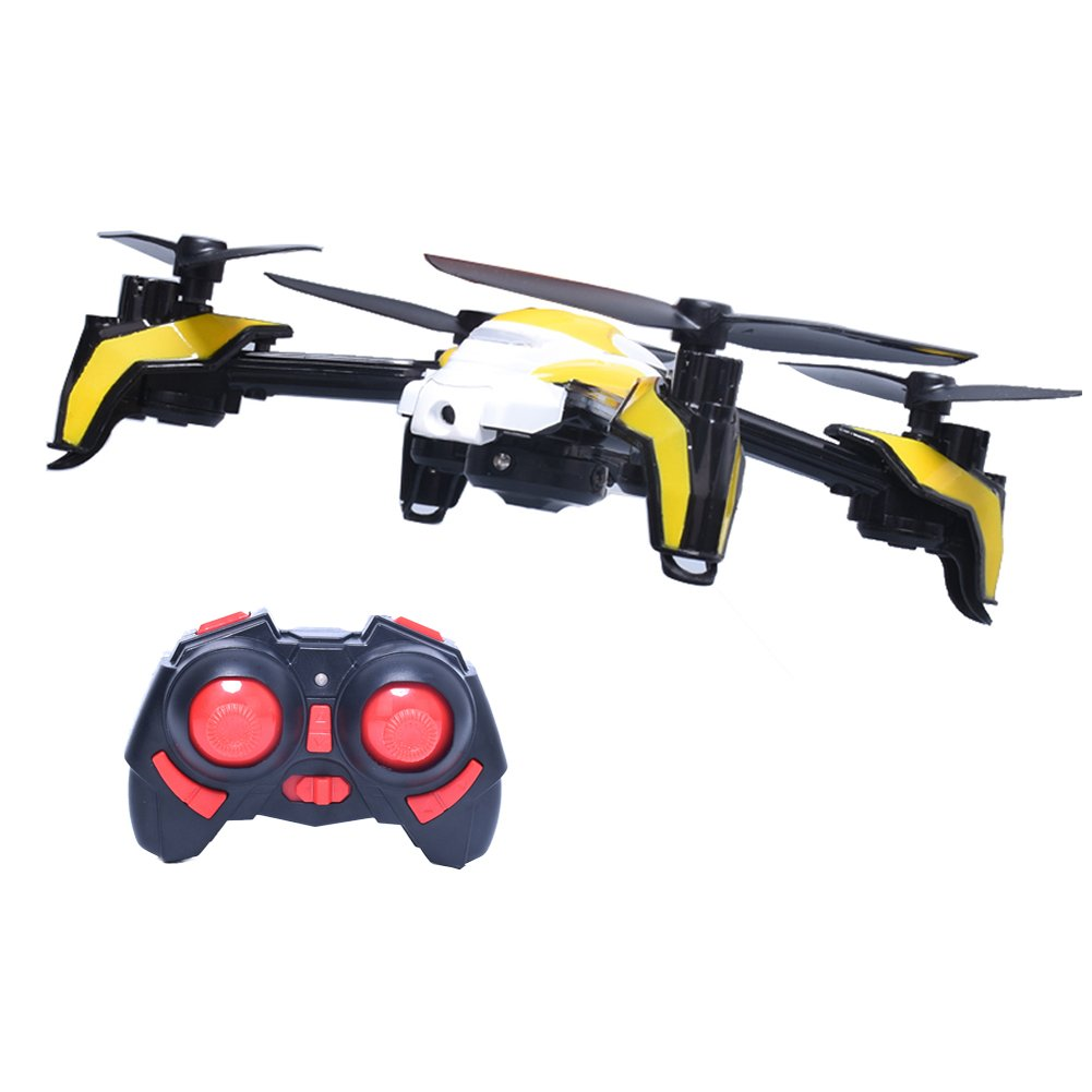 K90 Remote Control Quadcopter with Camera K90 Air Pressure Altitude Hold 2 Mega Pixel RC Version with Built-in Battery for Kai Deng, Yellow