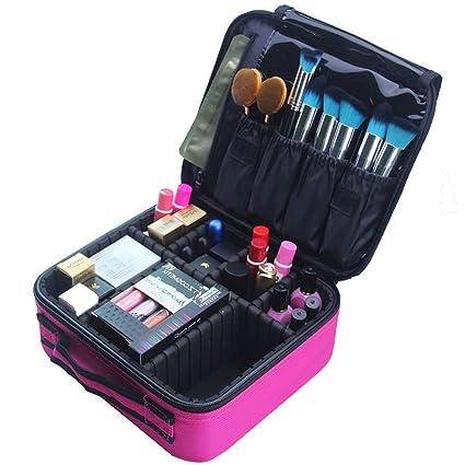 Xelparuca - Estuche organizador de maquillaje portátil para ...