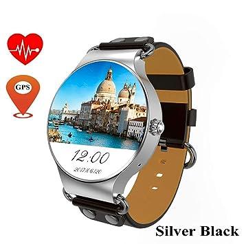 JingJingQi Rastreador de Ejercicios KW98 Smart Watch Android 5.1 ...