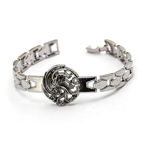 Mct12 - G of Thrones bracelet House of Targaryen logo Zinc ...