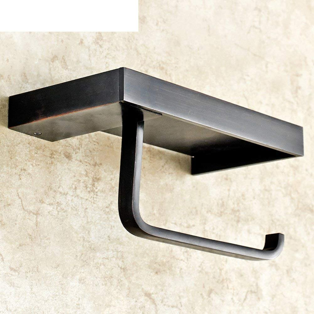 WSJJGAO Continental Shelf Toilet Paper Holder Toilet Bathroom Tissue Box Toilet Bathroom Accessories Toilet Winding Machine-A