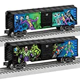 Lionel Justice League Villains, Electric O Gauge Model Train Cars, Joker/Lex Luther Boxcar