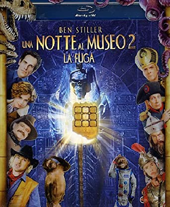 Notte Al Museo.Amazon Com Una Notte Al Museo 2 La Fuga Blu Ray Dvd Ricky