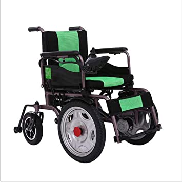 Amazon.com: B&MF Folding Electric Wheelchair Self-Propelled ...