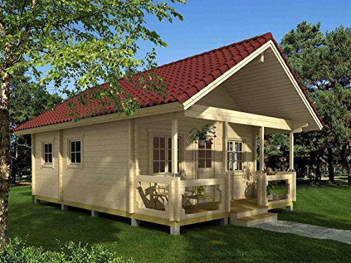 Allwood Timberline | 483 SQF Cabin Kit (Allwood Eagle Point 1108 Sqf Kit Cabin)