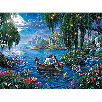 Ceaco Thomas Kinkade Disney Princess Collection The Little Mermaid II Puzzle (300 Piece)