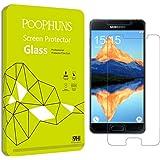 Schutzfolie für Samsung Galaxy A5 (2016), 2 Stück POOPHUNS Panzerglas für Samsung Galaxy A5 (2016), 9H Härtegrad, 99% Ultra Transparenz Full HD, Blasenfrei, Einfache Installation und Hohe Qualität