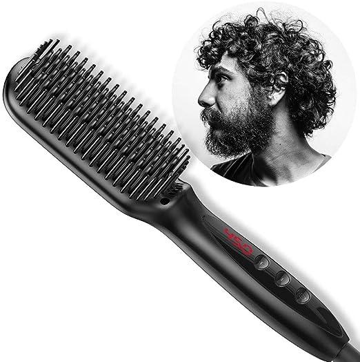 DONGBALA Enderezado Brush, Cepillo para Alisar La Barba para ...