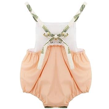 Bebé recién Nacido Bebé Niño de una Sola Pieza Jumpsuit Rompers ...