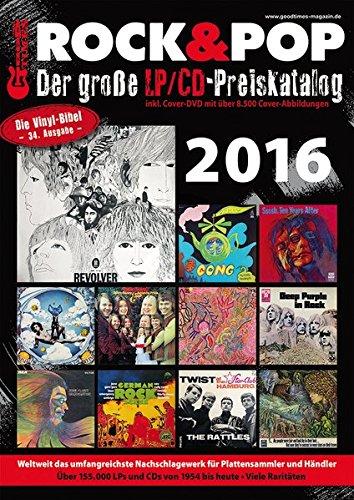 Der große Rock & Pop LP / CD Preiskatalog 2016