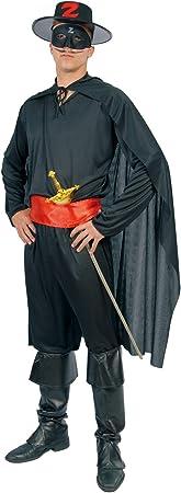 Disfraz Adulto ZORRO: Amazon.es: Juguetes y juegos
