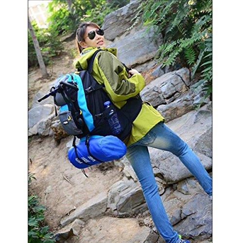 Männer Und Frauen Große Kapazität Bergsteigenbeutel Outdoor Sports Rucksack Lässig Reise Rucksack Multifunktionale Wandern Rucksack Black lMBB1GD3