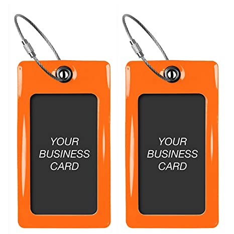 Amazon luggage tags tufftaag business card holder suitcase luggage tags tufftaag business card holder suitcase labels travel accessories colourmoves