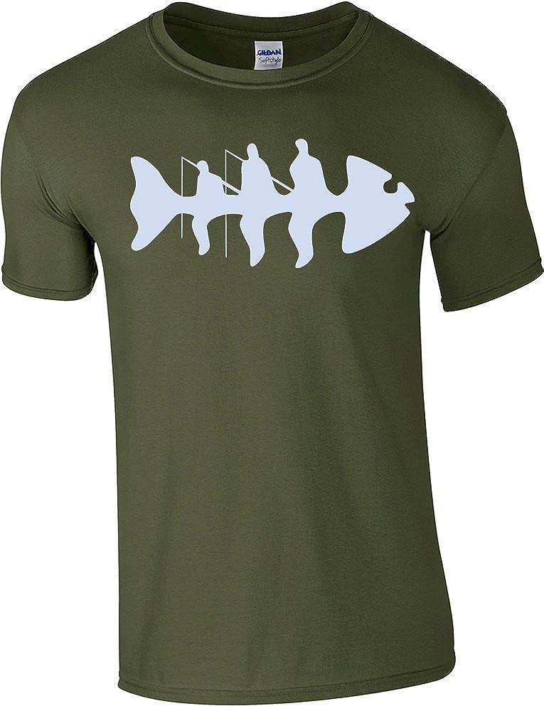 Taglie dalla S alla 2/X L /Ossa/ 360/Pesca/ /Fishing t-Shirt