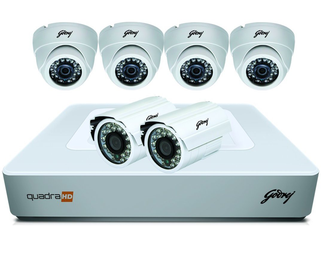 Godrej Security Solutions See Thru 720P 8 Channel 4 Dome 2