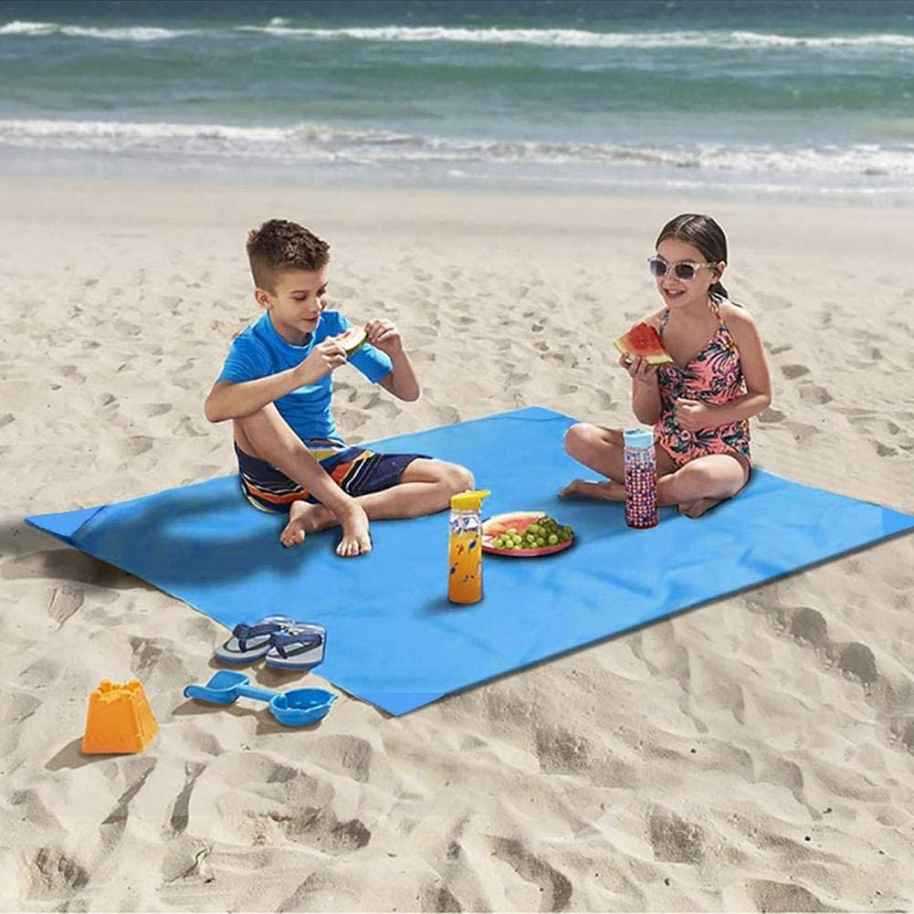 Camping Hiking and Music Festivals Magent Portable Beach Blanket Extra Large Outdoor Picnic Blanket Waterproof Sand Proof for Travel
