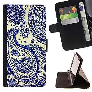 Jordan Colourful Shop - blue china India cards poker For Apple Iphone 5C - Leather Case Absorci???¡¯???€????€?????????&Ati