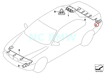 Amazon Com Bmw Genuine Ultrasonic Sensor British Racing Green