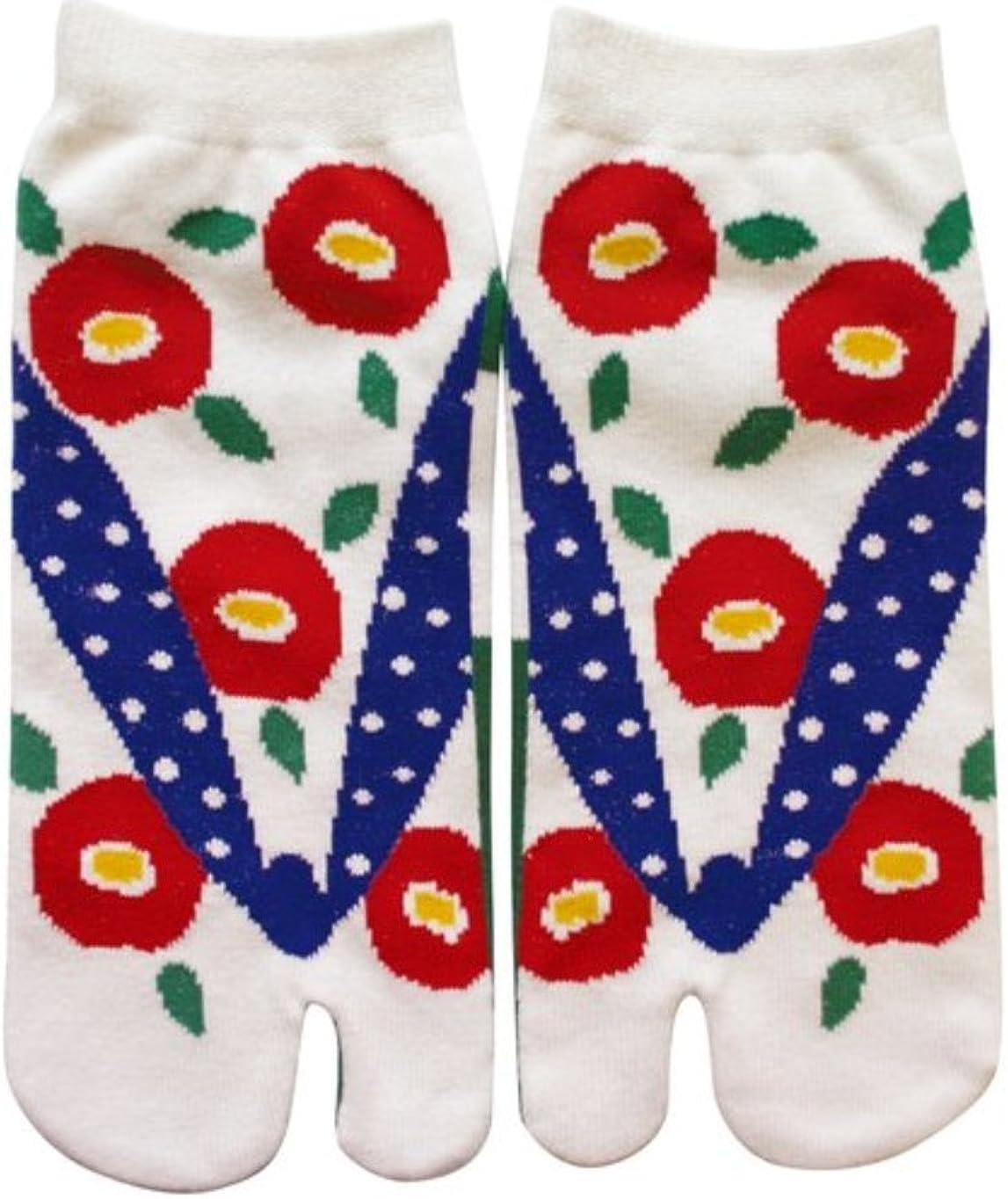 Japanese Samurai Ninja Tabi Socks Tsubaki