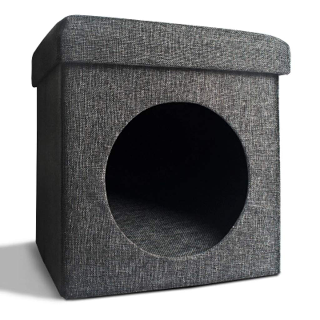 AosyGFR Foldable Sofa Small Stool Living Room Cat Hole Nest Closed Cat Litter Cat Room Cat Stool Pet Supplies