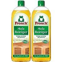 Frosch Houtreiniger - met natuurlijke verzorgende werkzame stoffen van de kaak. Pack van 2 (2 x 750ml)