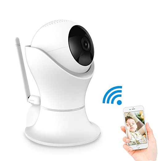 Gogloo 1080P HD Indoor Surveillance Camera with Two-way Audio,Night Vision,Motion Detection