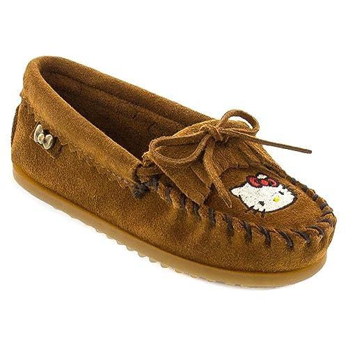 Minnetonka Childrens for Hello Kitty Kilty, Mocasines para Niñas: Amazon.es: Zapatos y complementos
