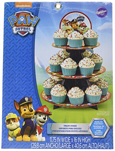 Patrol Cupcake Treat Stand Holds 24 Cupcakes! ()